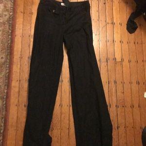 Michael Kors black linen pants